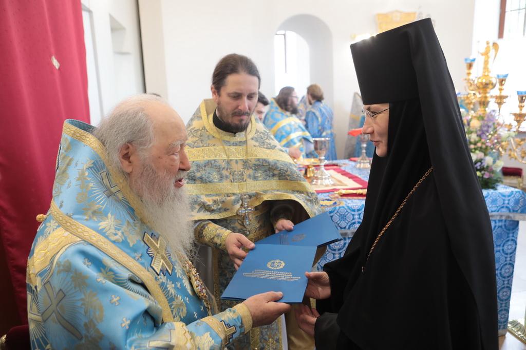 возведение монахини Магдалины (Чекулаевой) во игумению