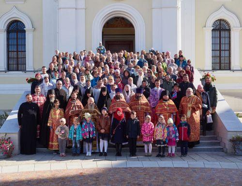 Престольный праздник в Никитском монастыре