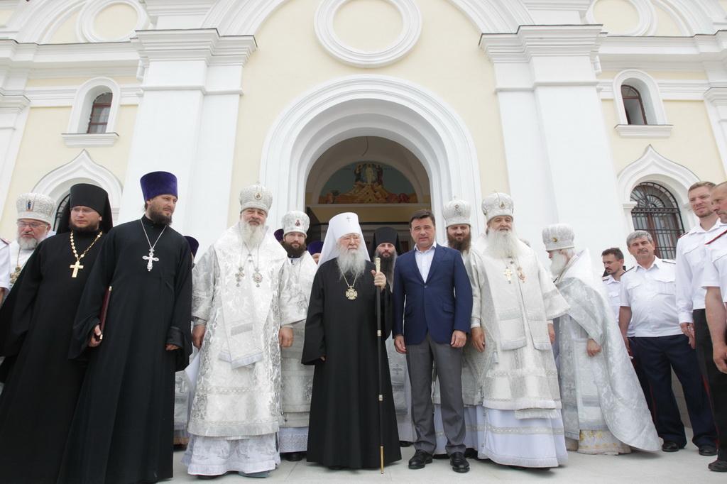 Освящение Преображенского собора