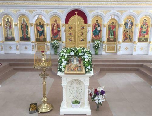 Преображение Господне. Престольный праздник в Никитском монастыре