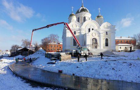 Восстановление Каширского Никитского женского монастыря