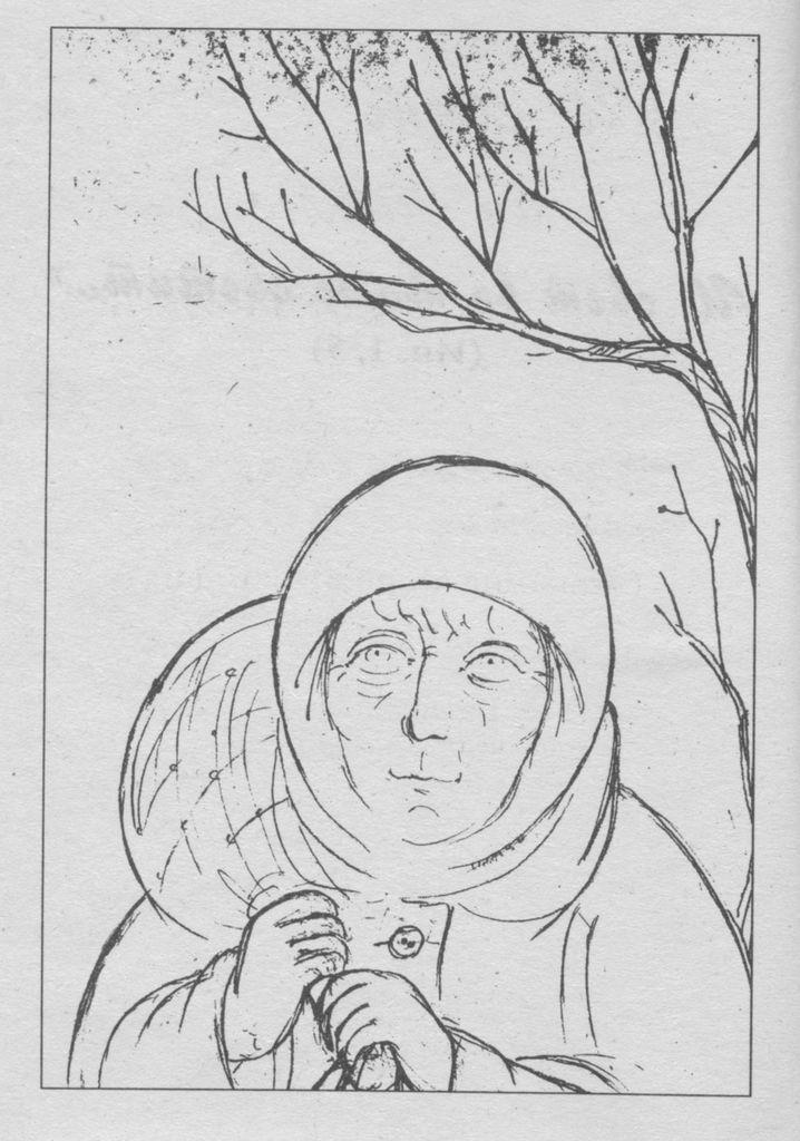 Подвижница обители – схимонахиня Ольга (Ложкина).